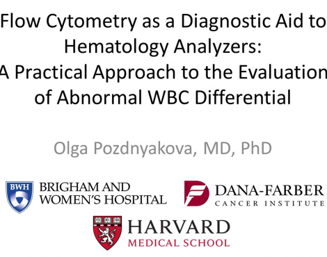 Flow Cytometry as a Diagnostic Aid to Hematology Analyzers: A Practical Approach to the Evaluation of Abnormal WBC Differential