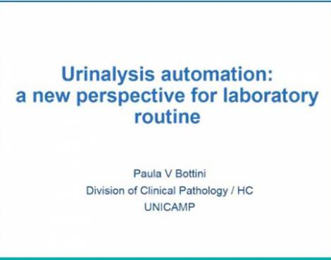Urinalysis automation a new perspective for laboratory routine