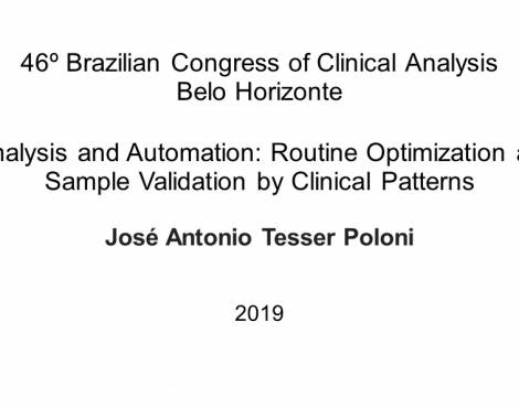 Urinalysis and Automation: Routine Optimization and Sample Validation by Clinical Patterns